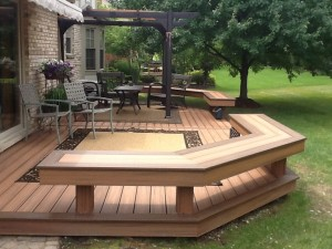 Royal Oak Trex Michigan custom deck builder